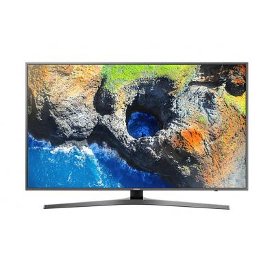 Samsung led-tv: UE49MU6470U - Zwart, Zilver