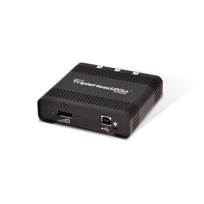 Matrox video splitter: TripleHead2Go DP Edition - Zwart