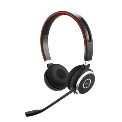 Jabra Evolve 65 MS Stereo Headset - Zwart