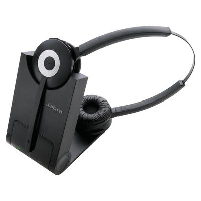 Jabra PRO 930 DUO Headset - Zwart