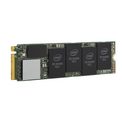 Intel 512 GB, M.2, PCI Express 3.0, NVMe, 3D2 QLC, Retail SSD