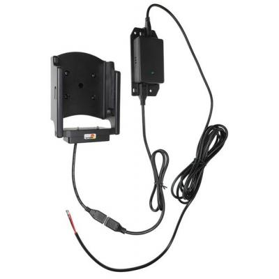 Brodit 4.75 - 5.3V, 82x67x115mm, 300g, ABS/Plastic, Black Houder - Zwart