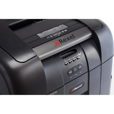 Rexel Auto+ 500x Papierversnipperaar - Zwart