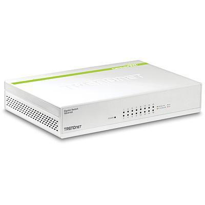 Trendnet 16-Port Gigabit GREENnet Switch - Wit