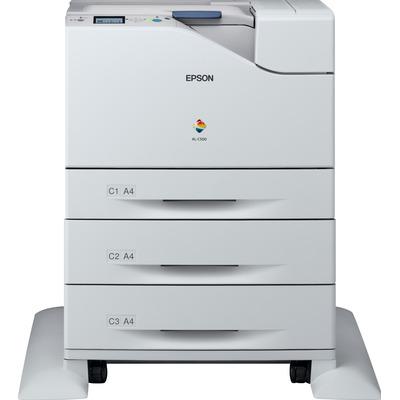 Epson WorkForce AL-C500DHN Laserprinter - Zwart, Cyaan, Magenta, Geel