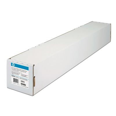 HP 2-pack Everyday Adhesive Matte Polypropylene 168 gsm-1067 mm x 22.9 m (42 in x 75 ft) Transparante film