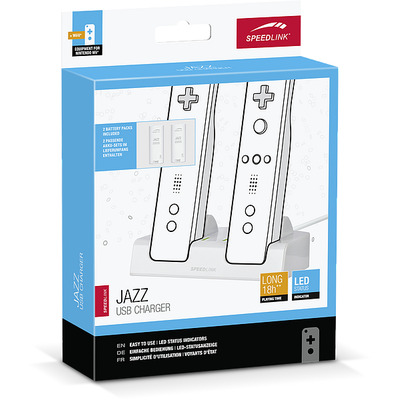 Speed-link oplader: JAZZ USB - Wit