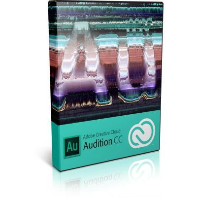 Adobe videosoftware: Video and audio AUDITION CC WIN/MAC VIP LIC
