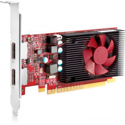 HP AMD Radeon R7 430 2 GB LP 2DP PCIe x16-videokaart Videokaart