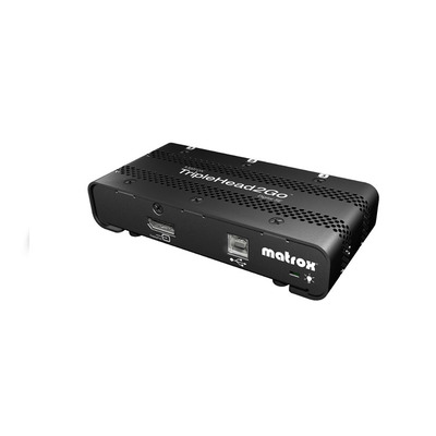 Matrox TripleHead2Go Digital SE Video splitter - Zwart