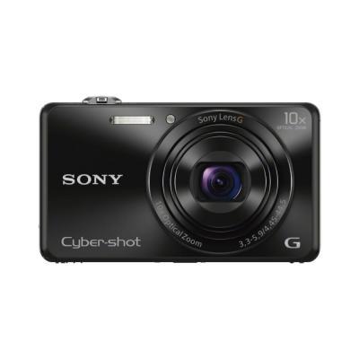 Sony digitale camera: Cyber-shot DSC-WX220 - Zwart