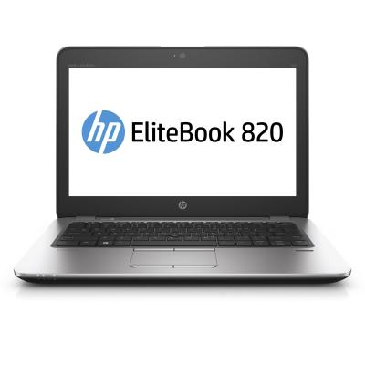 Hp laptop: EliteBook 820 G3 - Zilver