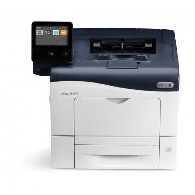Xerox laserprinter: Versalink C400 kleuren printer - Zwart, Wit