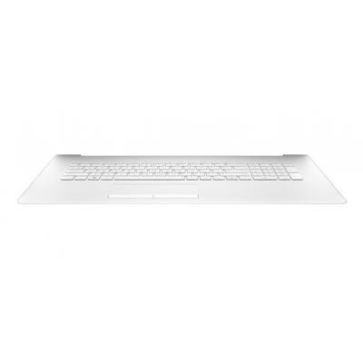 HP Top cover/keyboard, snow white notebook reserve-onderdeel - Wit