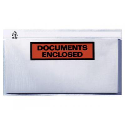 Debatin media mailer: Paklijstenvelop c6 doc.encl./ds 250