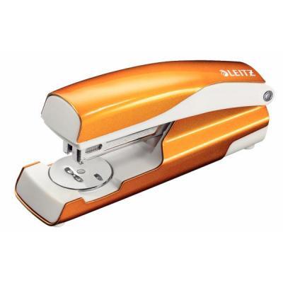 Leitz nietmachine: NeXXt 5502 WOW - Metallic, Oranje