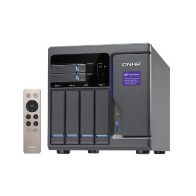 QNAP TVS-682 NAS - Zwart