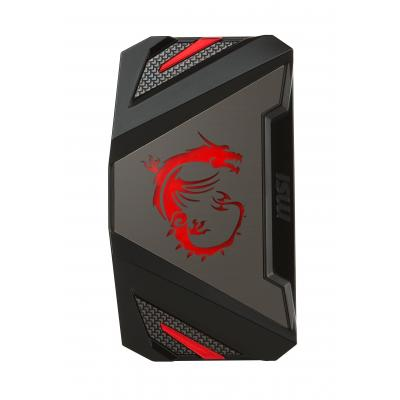MSI : 2WAY SLI HB Bridge L - Zwart, Grijs