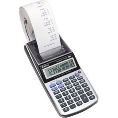 Canon calculator: P1-DTSC HWB - Metallic, Zilver