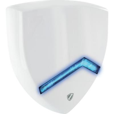 Schwaiger sirene: 120 dB, 240 x 240 x 40mm - Wit
