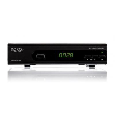 Xoro TV tuner: HRS 8670 - Zwart