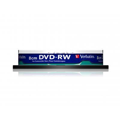 Verbatim DVD: DVD-RW 8cm Inkjet Printable