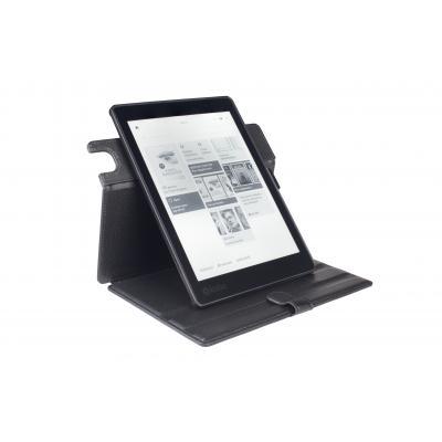 Gecko apparatuurtas: - Waterproof Easy-click Twist voor Kobo Aura One (Zwart)