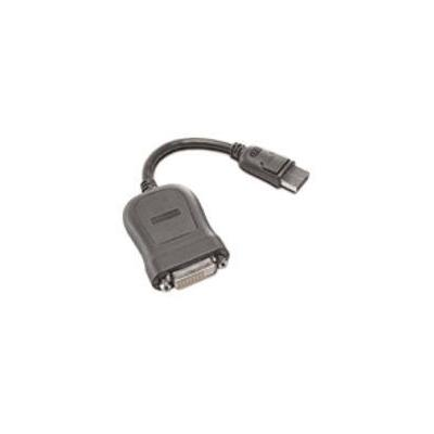 Lenovo DVI kabel : DisplayPort to Single-Link DVI-D Monitor Cable