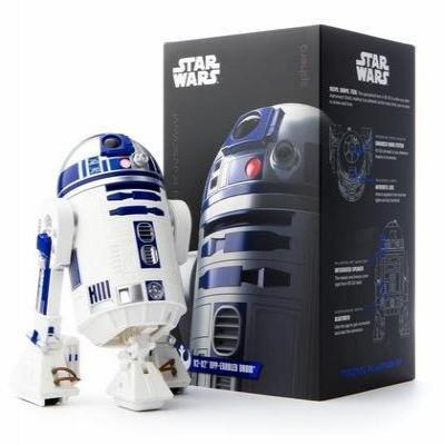 Sphero drones: Star Wars R2-D2 App-Enabled Droid - Blauw, Wit