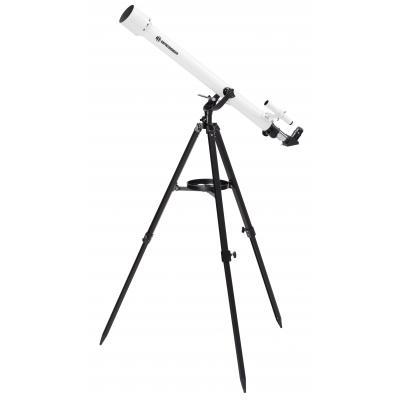 Bresser optics telescoop: CLASSIC 60/900 AZ - Zwart, Wit