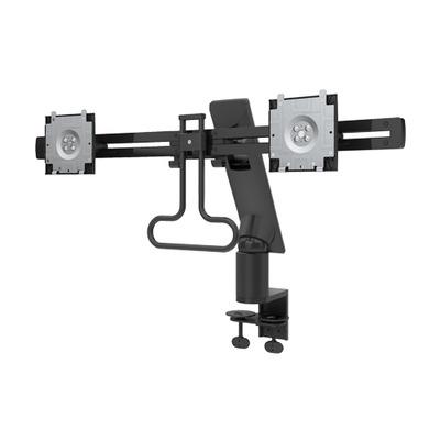 Dell monitorarm: Arm voor twee monitoren - Zwart