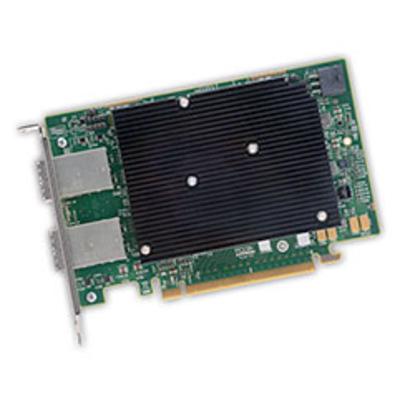 Broadcom SAS 9302-16e Interfaceadapter - Zwart,Groen,Metallic