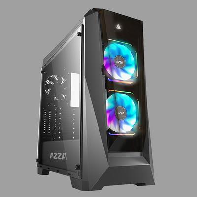 Azza Chroma 410B Behuizing - Zwart