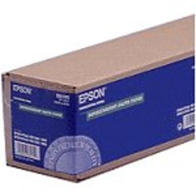 """Epson Doubleweight Matte Paper Roll, 24"""" x 25 m, 180g/m² Grootformaat media"""