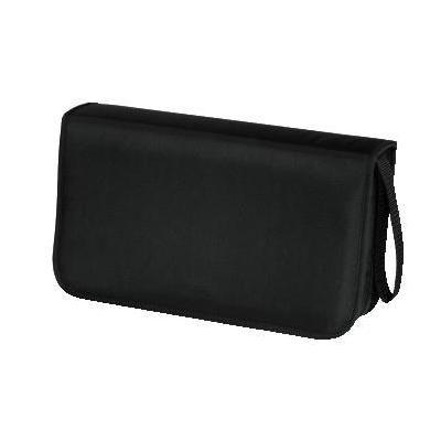 Hama : CD Wallet Nylon 80, black - Zwart