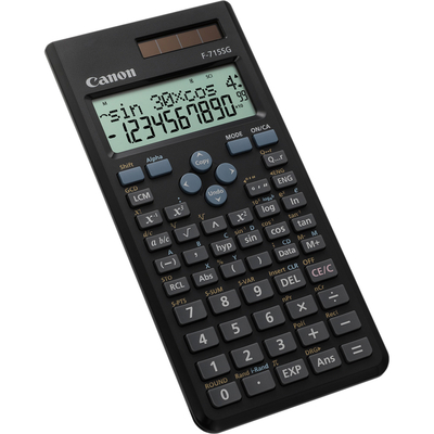 Canon calculator: F-715SG - Zwart