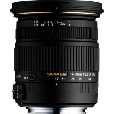 Sigma camera lens: 17-50mm F2.8 EX DC OS HSM - Zwart