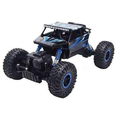 """Amewi : Conqueror """"Blue"""" 4WD 1:18 Rock Crawler"""