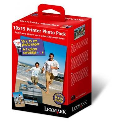 Lexmark Printer Photo Pack (nr.35+140v 10x15 fotopap.) Fotopapier
