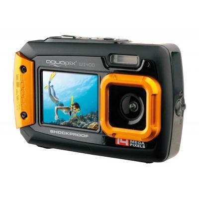 Easypix W1400 Active Digitale camera - Zwart, Oranje