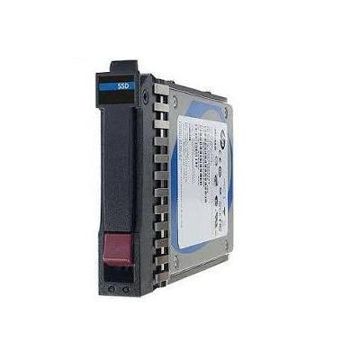 """Hewlett packard enterprise SSD: 1.6TB 2.5"""" 12G SAS - Aluminium, Zwart"""