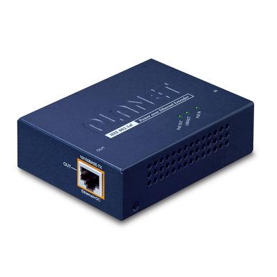 PLANET IEEE 802.3af Power over Ethernet Extender Netwerk verlenger - Blauw