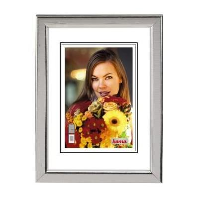"Hama ""Bella"" Wooden Frame Silver 13x18cm Fotolijst - Zilver"