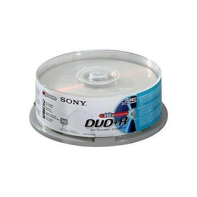 Sony DVD: DVD+R 16x, 25