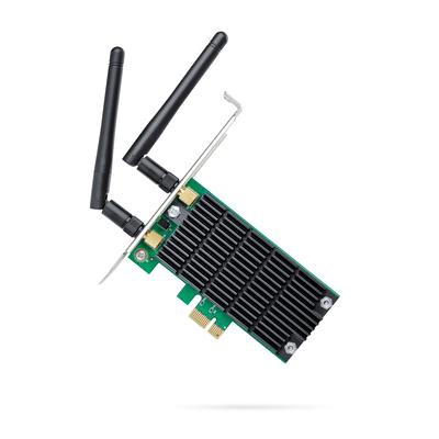 TP-LINK AC1200 Netwerkkaart - Zwart,Groen