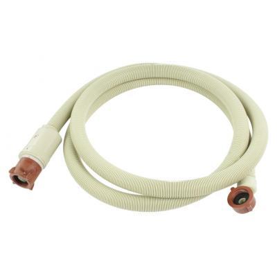 "Hq keuken & huishoudelijke accessoire: Inlet hose with waterblock 3/4"" hooked - 3/4"" straight 2.50 m"