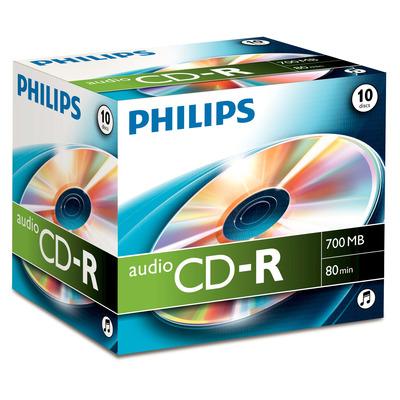 Philips De uitvinder van de technologieën achter en DVD. 700 MB/80 min. CD