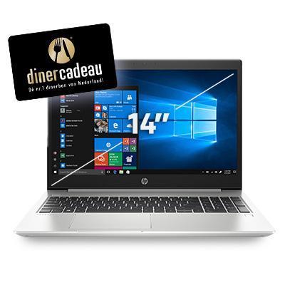 Hp laptop: ProBook 440 G6 14 inch i5 8GB 256GB SSD - Zilver