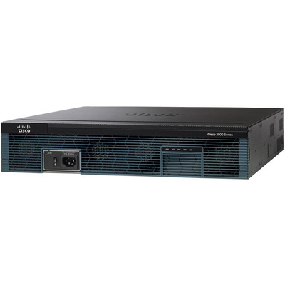 Cisco router: 2921 - Zwart