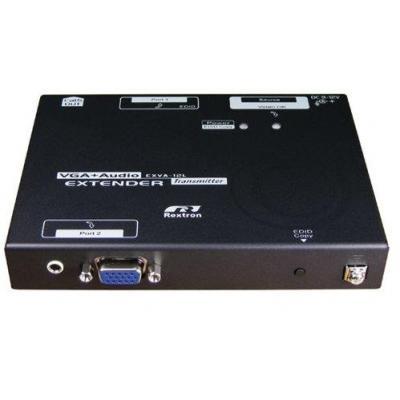 Intronics AV extender: VGA Extender 900 meter - Zwart